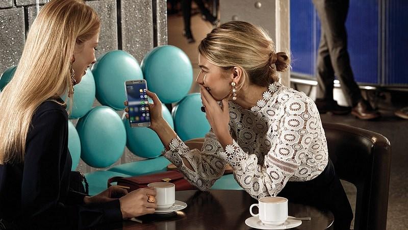 smartphone an toàn nhất khi gọi điện  Galaxy S7 Edge