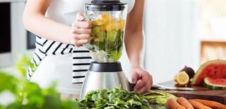 9 loại thực phẩm không nên cho vào máy xay sinh tố, các bà nội trợ cần lưu ý