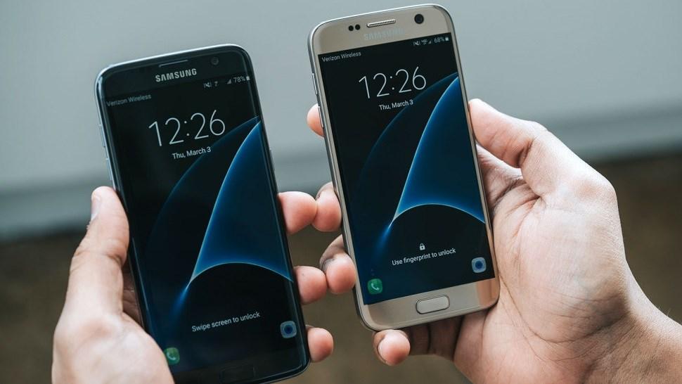 Giảm giá mạnh Galaxy S7, Galaxy S7 Edge tại Mỹ