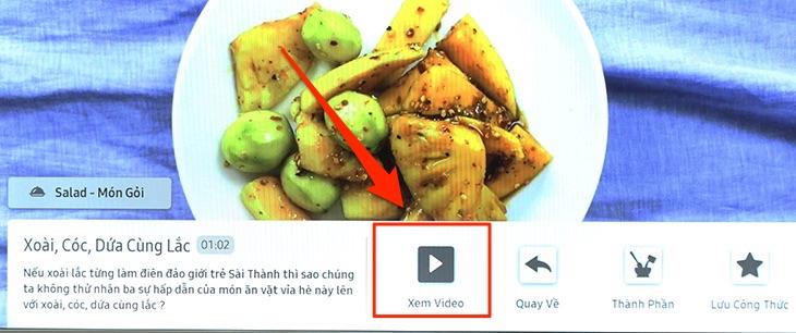 Chọn Xem video