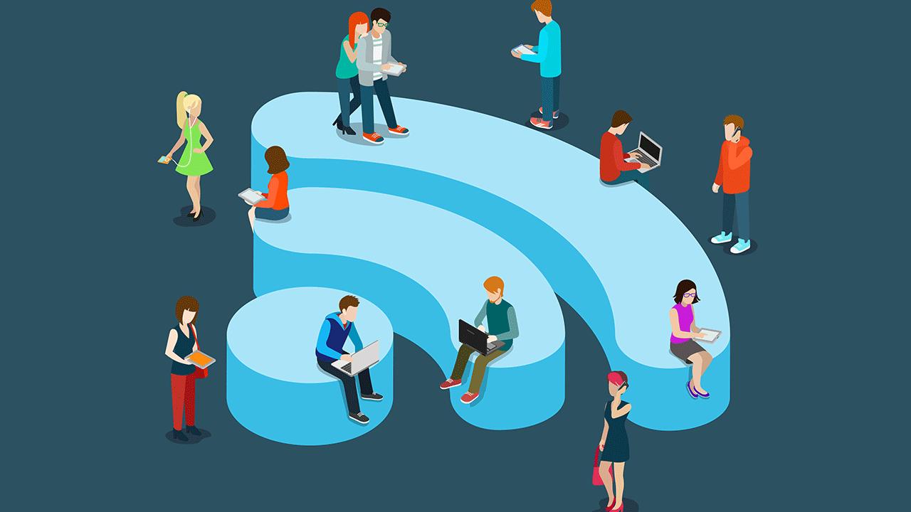 Kết quả hình ảnh cho Wifi nhà hàng xóm khiến tốc độ mạng chậm