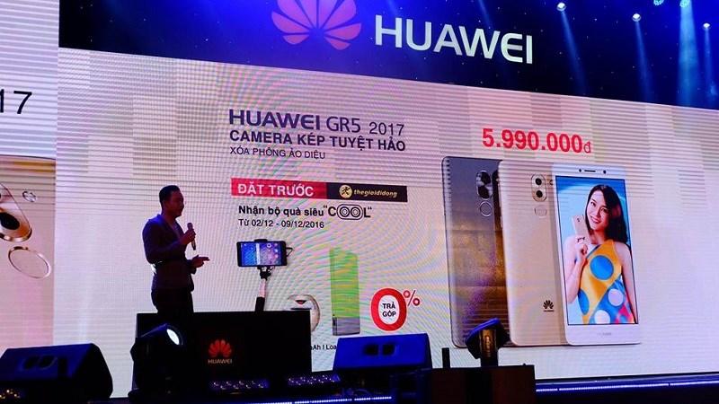 Sự kiện ra mắt Huawei GR5 2017 tại Việt Nam