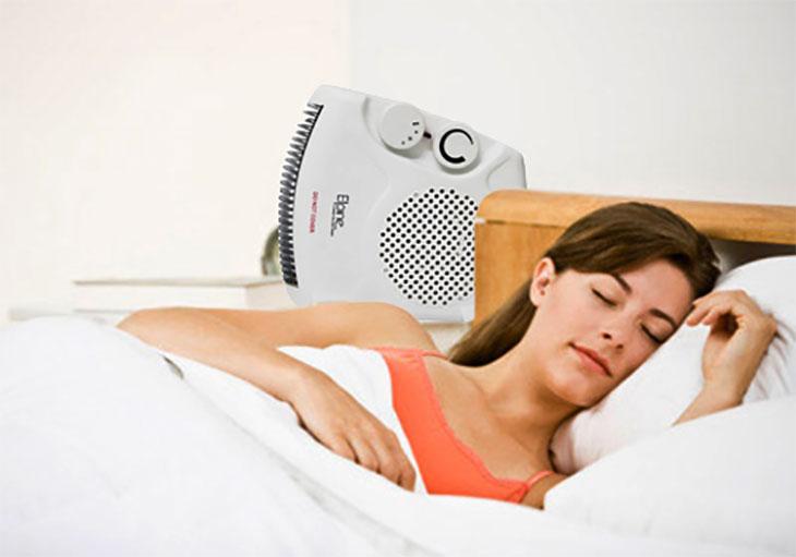 Lưu ý khi dùng quạt sưởi trong mùa lạnh để bảo vệ sức khỏe