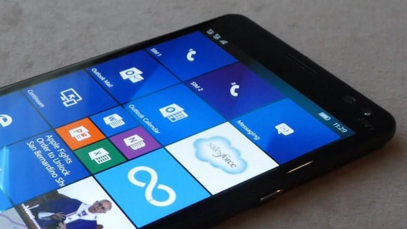 HP chọn Windows 10 Mobile vì nó có khả năng bảo mật tốt hơn Android