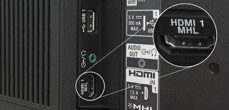 Cổng HDMI (MHL)