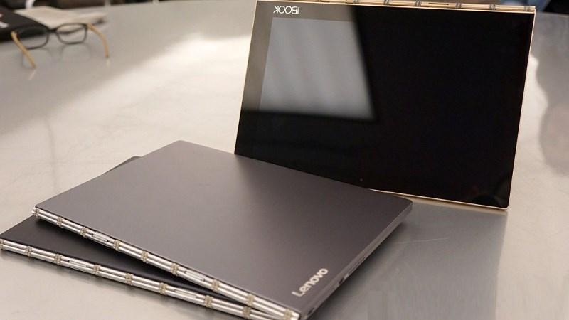 Lenovo ra máy tính bảng Yoga Book mỏng nhất thế giới tại Việt Nam, giá 13 triệu đồng
