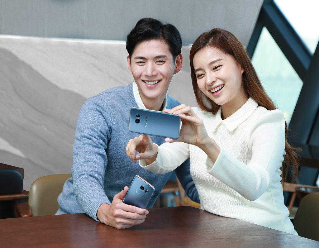 Người dùng sẽ không bao giờ thiếu cảm hứng mỗi ngày với Galaxy S7 Edge Xanh Coral