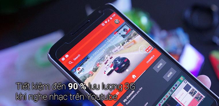 Mẹo nghe nhạc Youtube tiết kiệm đến 90% lưu lượng 3G Android