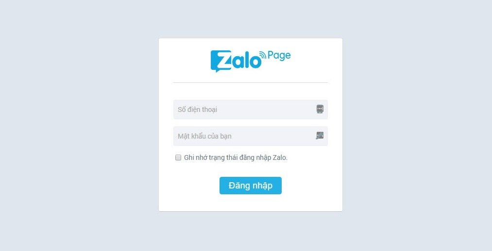 Xuất hiện những trang web mạo danh Zalo để đánh cắp thông tin người dùng