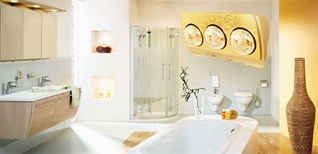 Hướng dẫn lắp đặt và sử dụng đèn sưởi nhà tắm