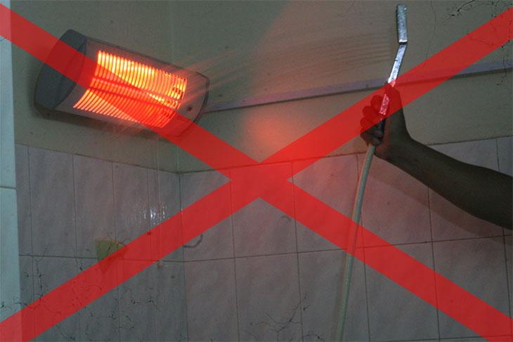 Hướng dẫn lắp đặt và sử dụng đèn sưởi