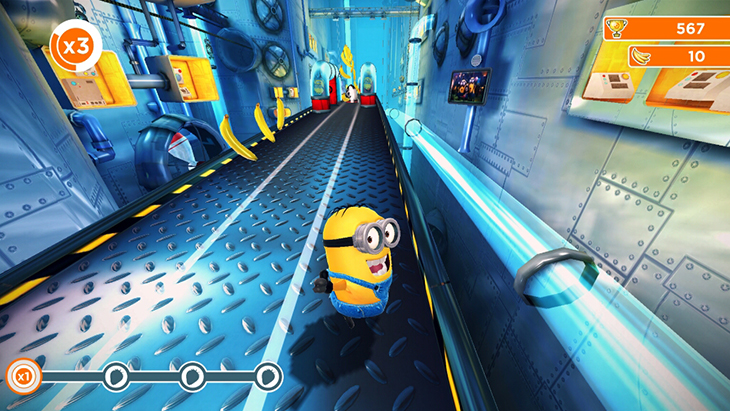Game Despicable me trên Android tivi Sony