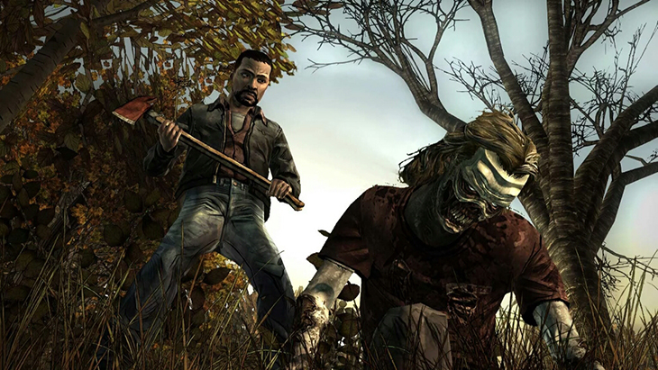 Game The Walking Dead trên Android tivi Sony