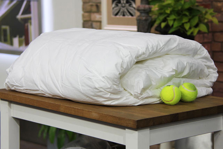 Cho bóng tenis vào trong 30 phút sấy khô cuối