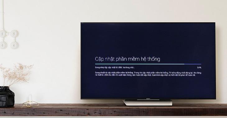 Cập nhật phần mềm tivi Sony