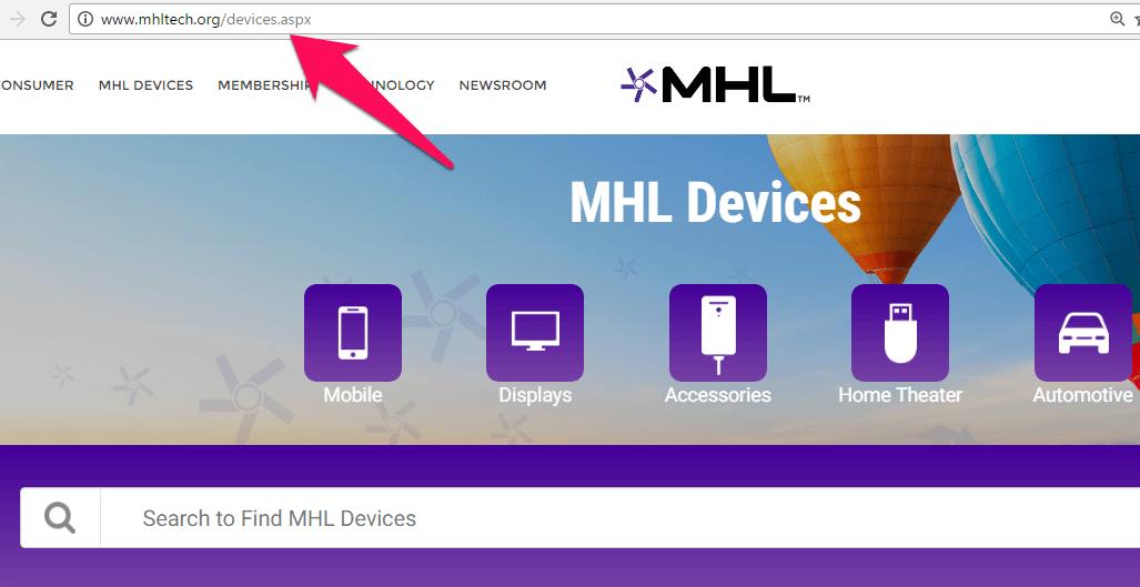 MHL tech