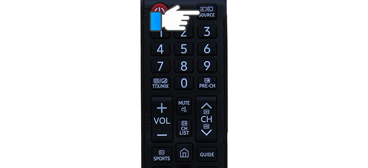 Cách sử dụng remote tivi Samsung K5300