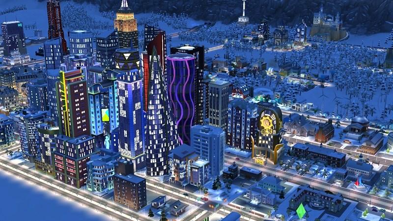 Hình ảnh trong game SimCity BuildIt