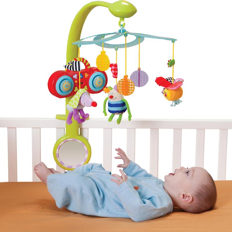 Cách chọn đồ chơi cho trẻ dưới 1 tuổi