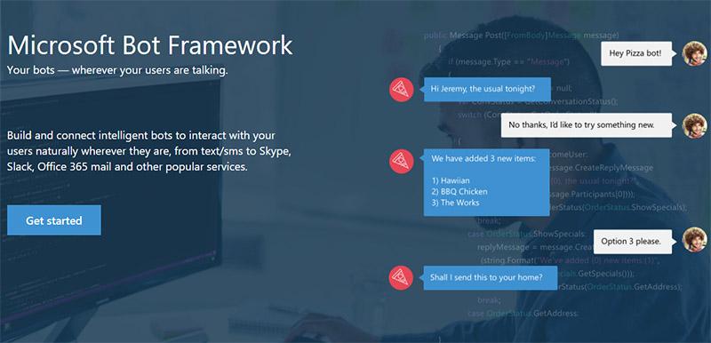 Bot tools giúp xây dựng đối tác đối thoại