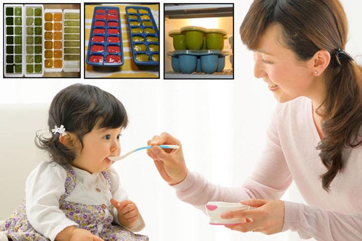Thức ăn rã đông cho bé tốt nhất nên dùng trong ngày