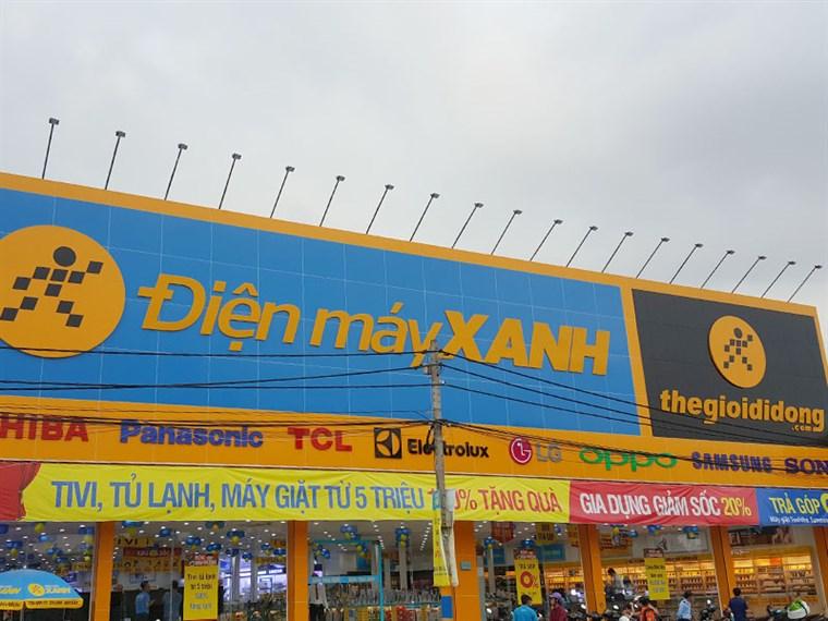 Siêu thị điện máy xanh tại 836 Tỉnh Lộ 43, P. Bình Chiểu, Q. Thủ Đức, TP Hồ Chí Minh (Đối diện Nhà Văn Hóa - Thể Thao)