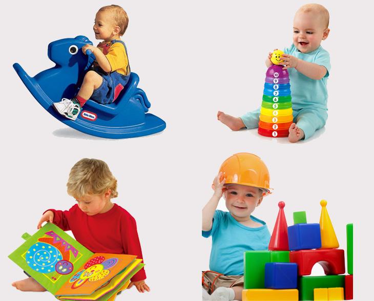 1 - 2 tuổi trẻ cần những đồ chơi đơn giản, dễ hiểu, dễ chơi