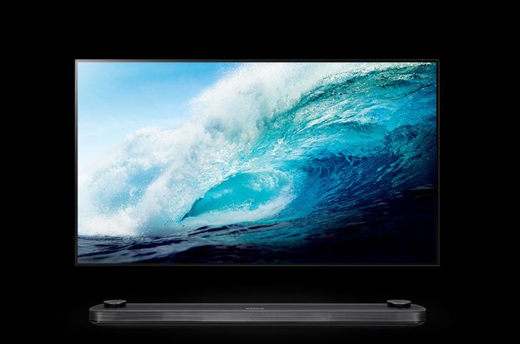 tivi LG OLED siêu mỏng dán tường