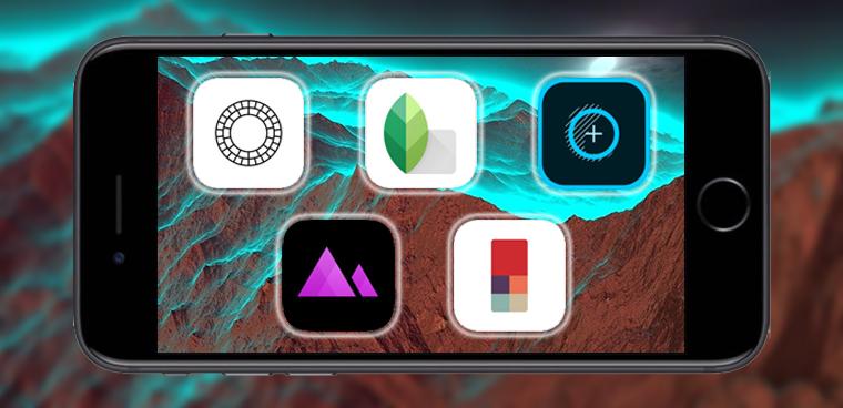 Top 5 ứng dụng chỉnh ảnh đỉnh nhất trên iPhone