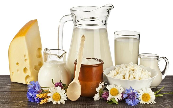Sữa và các thực phẩm từ sữa