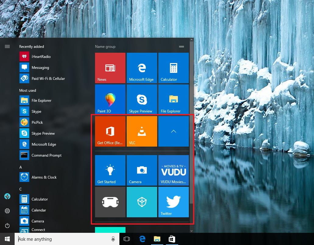 Những thay đổi đáng giá trên Windows 10 build 15.002 (Phần 1) - ảnh 2