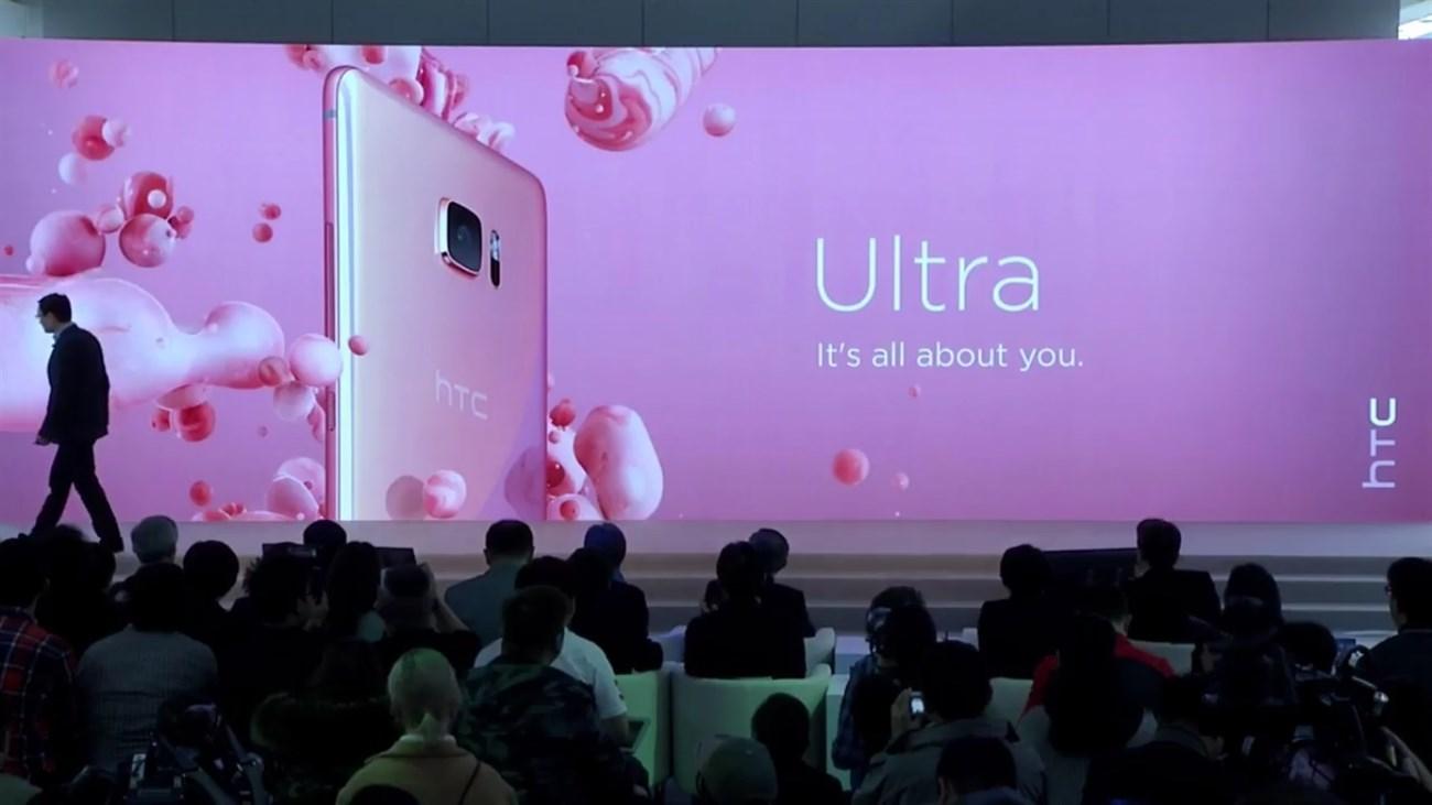 HTC U Ultra chính thức ra mắt: 2 màn hình, mặt kính Sapphire cao cấp, hỗ trợ trí tuệ nhân tạo - ảnh 1