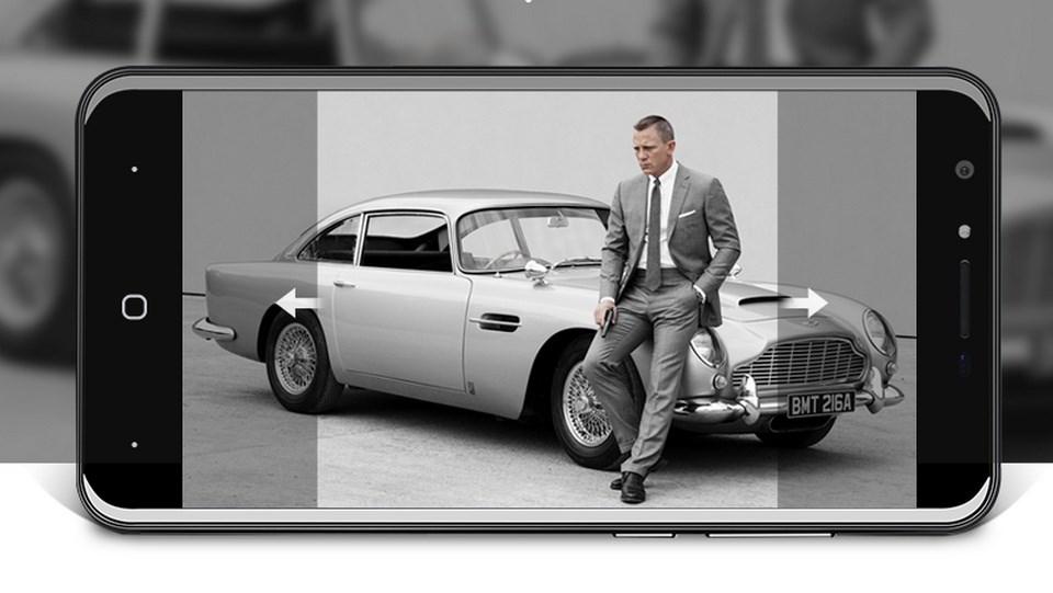 Bavapen James Bond ra mắt: Khung vỏ bằng hợp kim phi thuyền, camera 13MP mặt trước có đèn flash