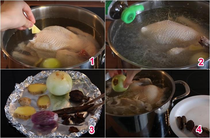 Cách làm phở gà ngon đúng điệu với phở ăn liền