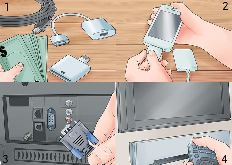 Kết nối iPhone với tivi qua cổng VGA