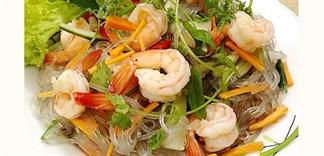 Cách làm miến trộn chua ngọt kiểu Thái hấp dẫn tại nhà