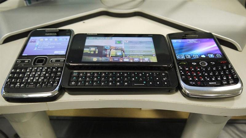Nokia và BlackBerry