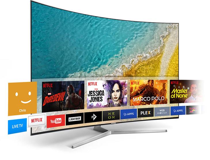 Giao diện Smart tivi Samsung