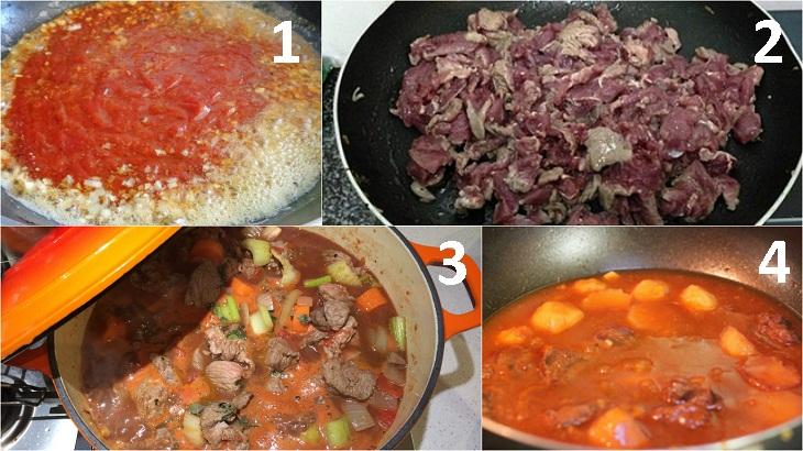 Nấu hủ tiếu bò kho từ hủ tiếu ăn liền