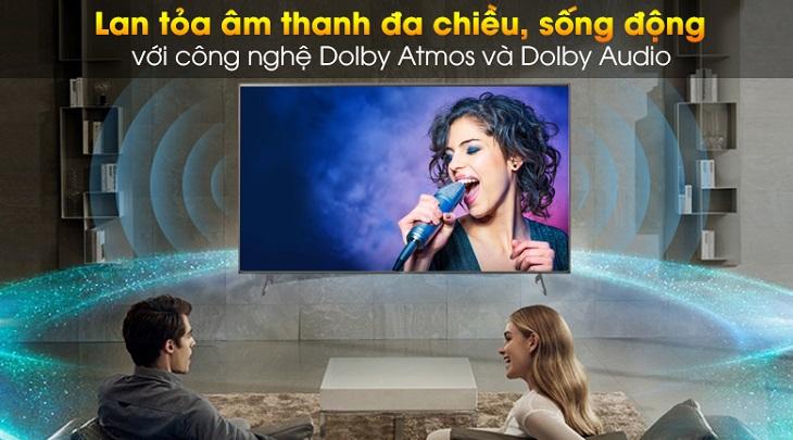 Công nghệ âm thanh Dolby Atmos và Dolby Audio trên Android Tivi Sony 4K 65 inch KD-65X9000H/S