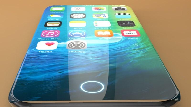 iPhone 8 sẽ có màn hình OLED cong tràn cạnh rộng 5.8 inch
