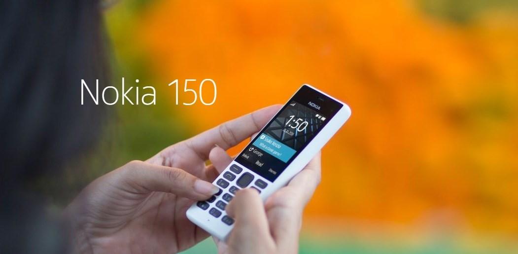 Điện thoại Nokia 150 pin chờ cả tháng lên kệ TGDĐ