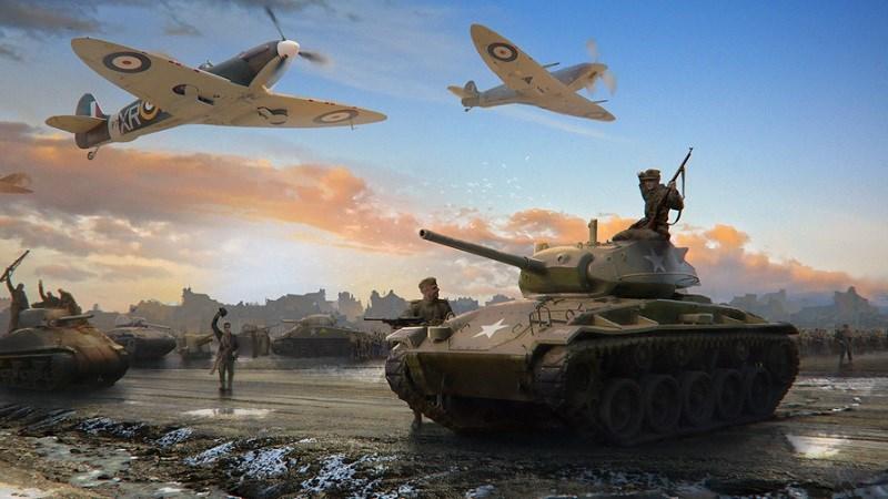 Hình ảnh trong game World at War: WW2 Strategy MMO