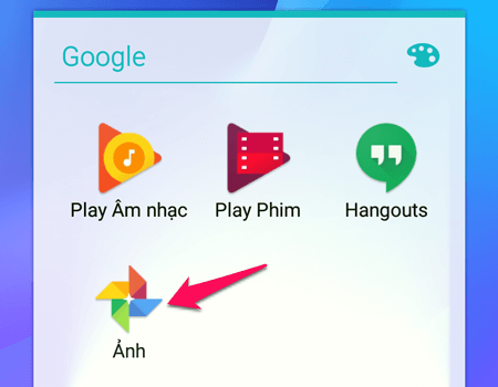 Ứng dụng Google Photos