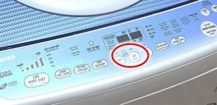 Chế độ xả tràn trên máy giặt là gì? Ý nghĩa và các thao tác sử dụng