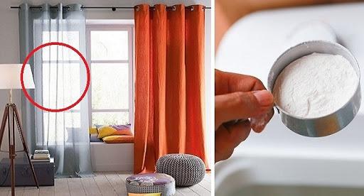 Ngăn ngừa nấm mốc trên rèm cửa