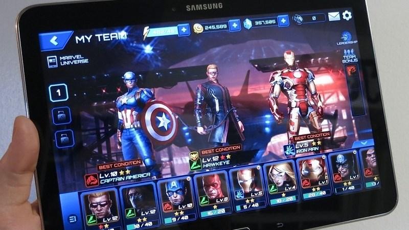 Hình ảnh trong game MARVEL Future Fight