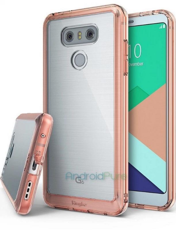 LG G6 tiếp tục lộ hết hàng, không còn gì để giấu