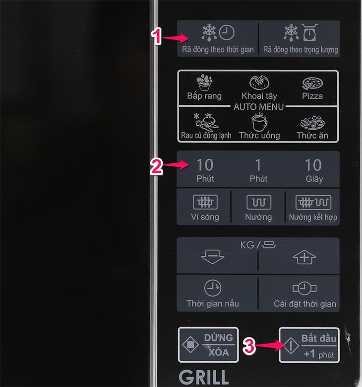 Hướng dẫn sử dụng lò vi sóng Sharp model R-G271, R-G272, R-G273