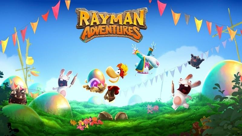 Hình ảnh trong game Rayman Adventures